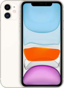 "Smartphone 6.1"" Apple iPhone 11 - Retina, A13, 4 Go de RAM, 256 Go, blanc"