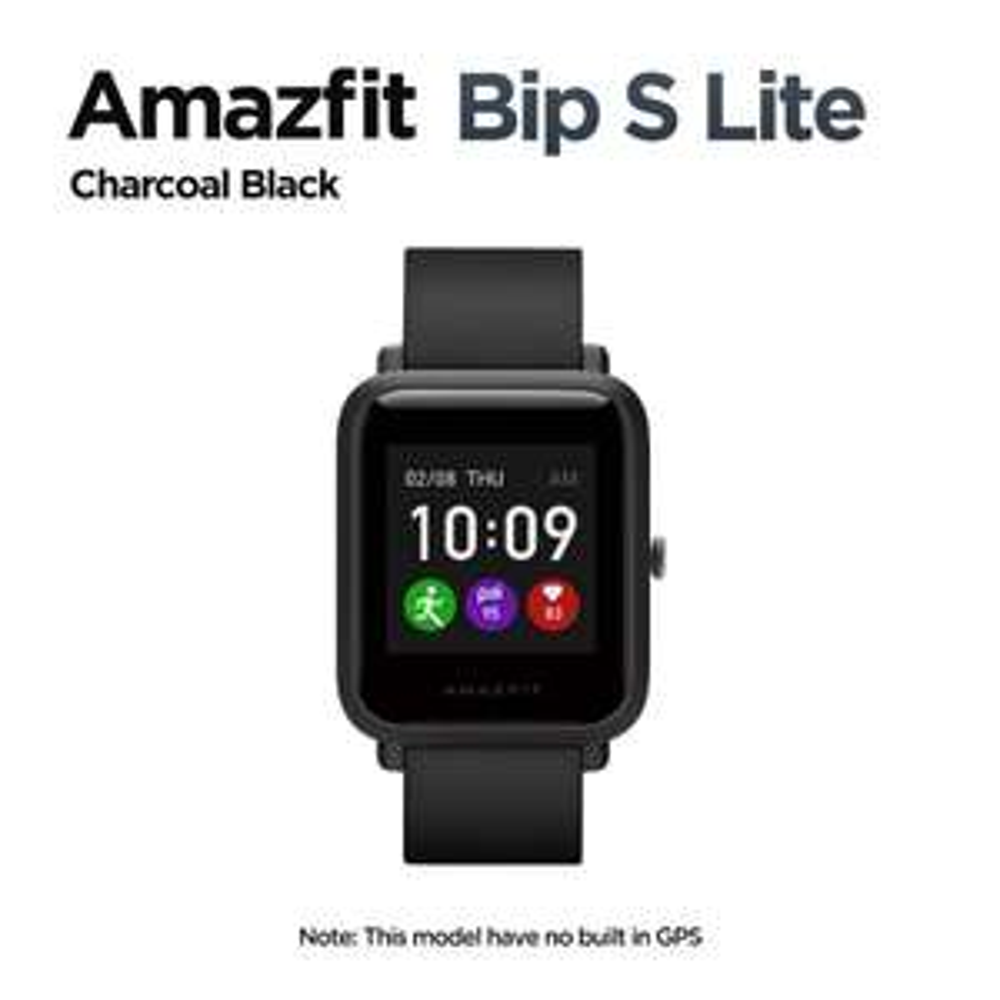 """Montre connectée Huami Amazfit Bip S Lite - Ecran 1.28"""", 5 ATM, Autonomie 30 jours, Noir (Entrepôt Espagne) - 30,51€ avec le code AEKOLMAR"""