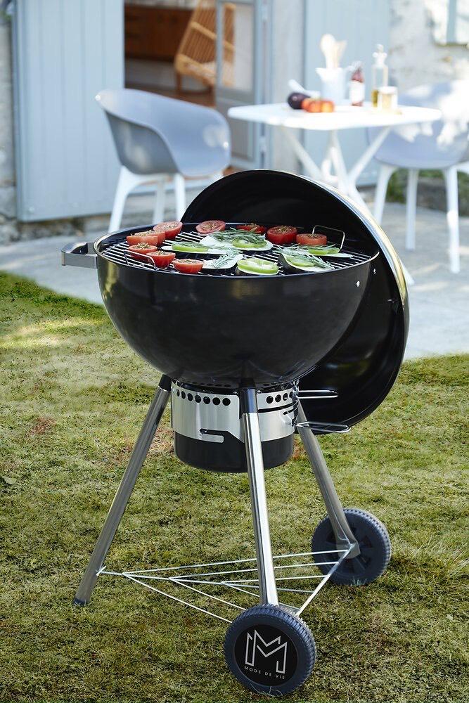 Barbecue boule à charbon de bois