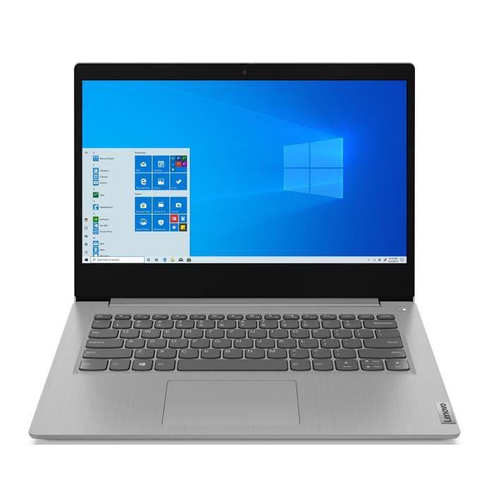 PC Portable Ultrabook 14'' Lenovo Ideapad IP 3 14ADA05 - HD, Ryzen 3 3250U, RAM 4Go, 128Go SSD, Radeon Vega 3, Windows 10S