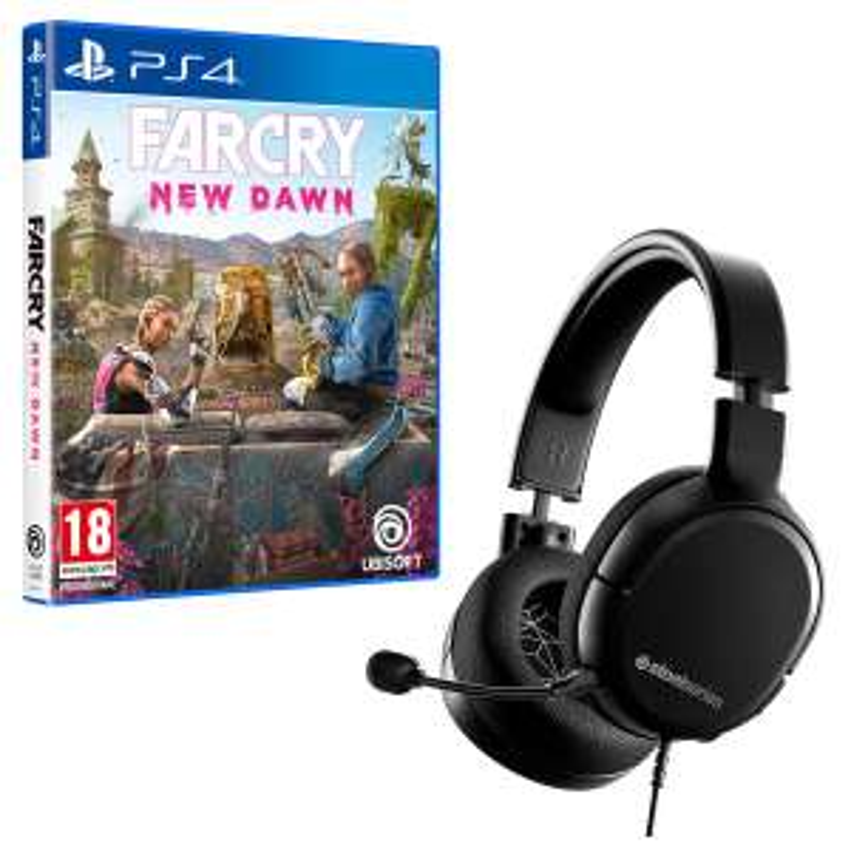 Casque Gamer Arctis 1 Multi-plateforme + Far Cry New Dawn sur PS4