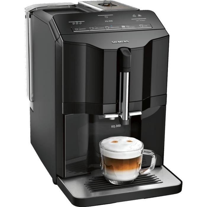 Machine à expresso avec broyeur de grains Siemens TI35A209RW - 15 bars, iAroma System (via ODR 50€)