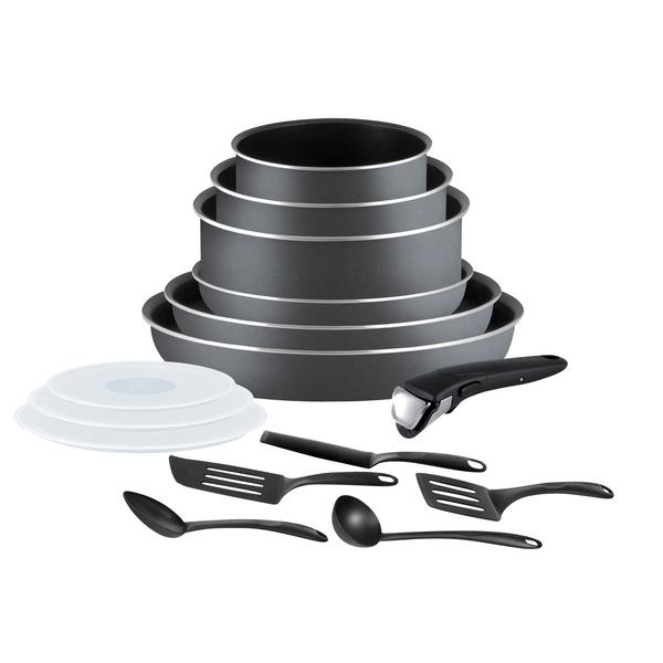 Batterie de cuisine Set Ingenio Tefal - 15 pièces