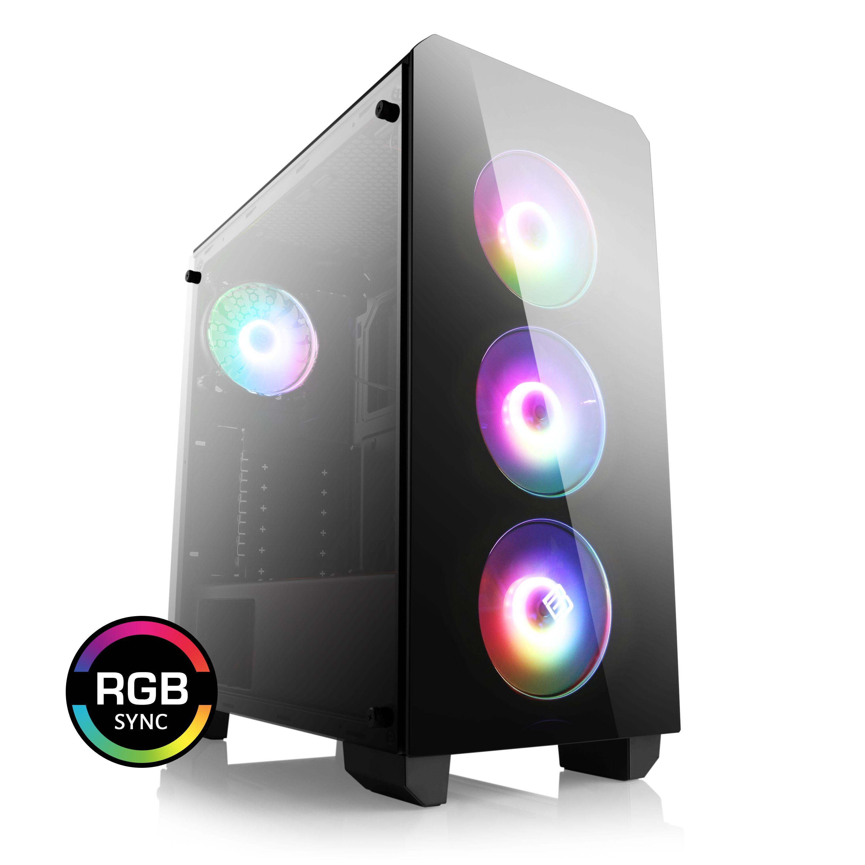 PC Gamer 912 - Ryzen 5 3600, RTX 3070 TUF, 8Go RAM, Sans Stockage, B450M Pro4-F, Alim. BeQuiet! 600W Gold, Sans OS