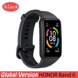 """Bracelet connecté 1.47"""" Honor Band 6 - Noir"""