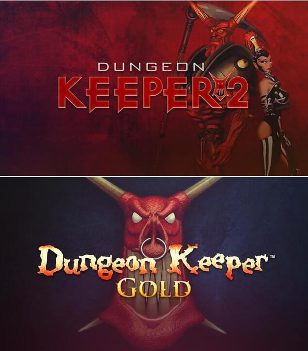 Dungeon Keeper Gold ou Dungeon Keeper 2 sur PC (Dématérialisé - DRM-free)
