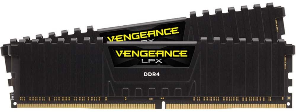 Kit Mémoire Corsair Vengeance LPX - 32Go (2x16Go), DDR4, 3200MHz