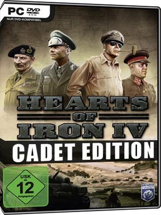 Heart of iron 4 version Cadet sur PC (Dématérialisé)
