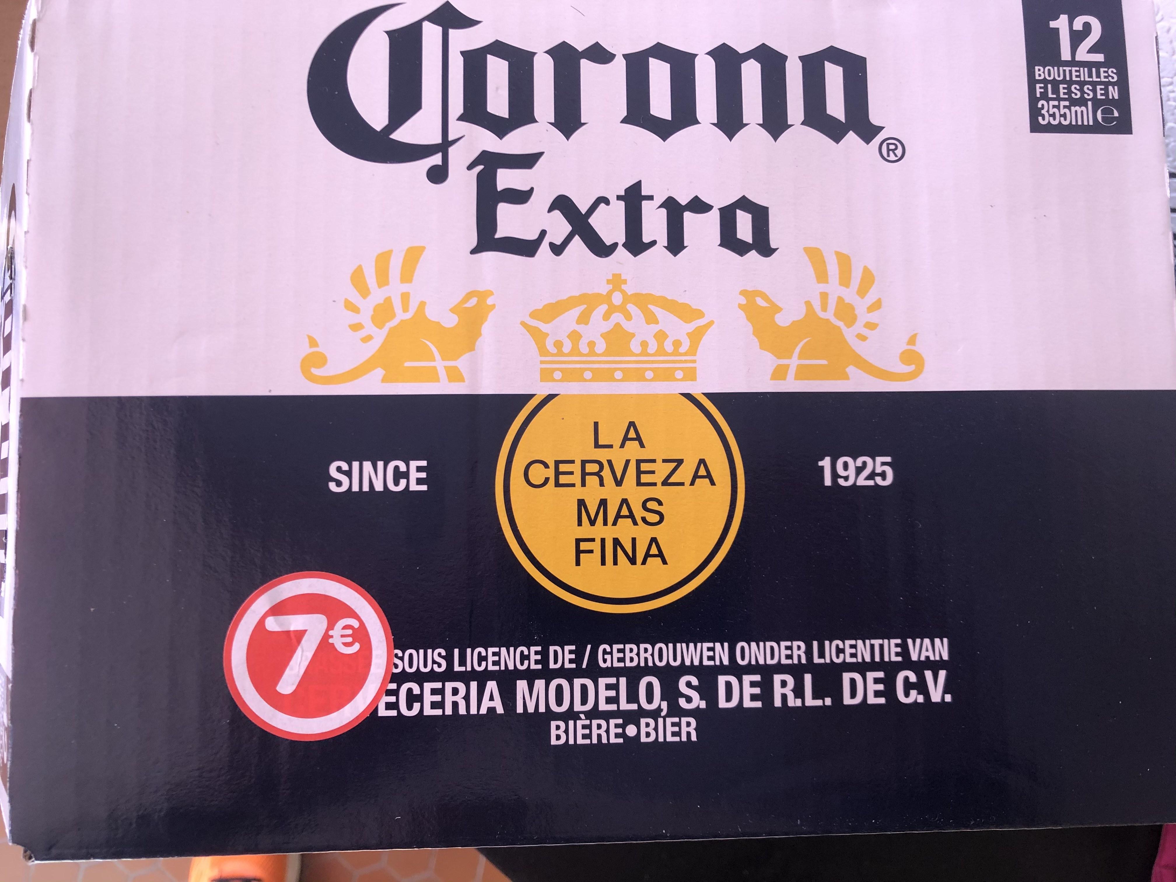 Pack de 12 bières Corona Extra (12x 35cl) - Deauville (14)