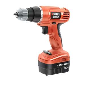 Perceuse Sans-fil Black & Decker EPC12CA-QW - 12V, 1.2A