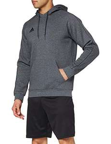 Sweat à capuche adidas core 18 - Gris, Taille XXL