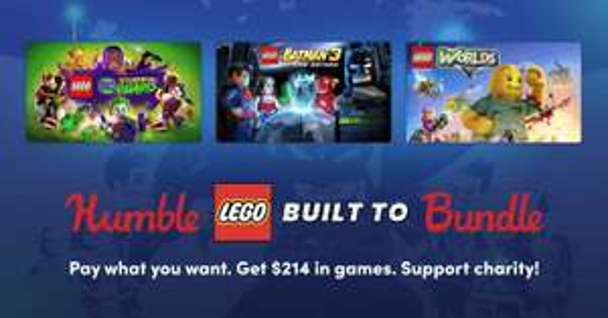 Humble Lego Built To Bundle - Lego Ninjago Movie à partir de 1€ sur PC (Dématérialisé - Steam)