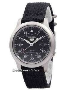 Montre automatique Seiko 5 SNK809K2 - 37mm (Taxes incluses)
