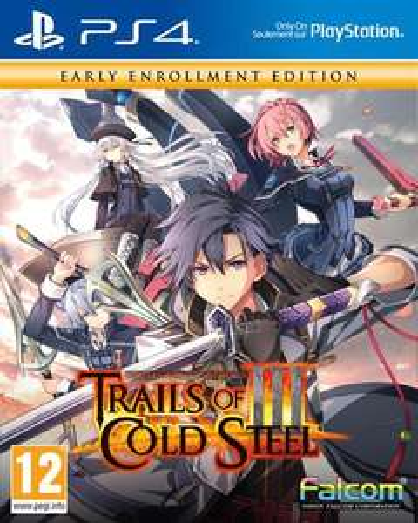 Jeu The Legend Of Heroes Trails Of Cold Steel 3 sur PS4 (Via Retrait en Magasin)