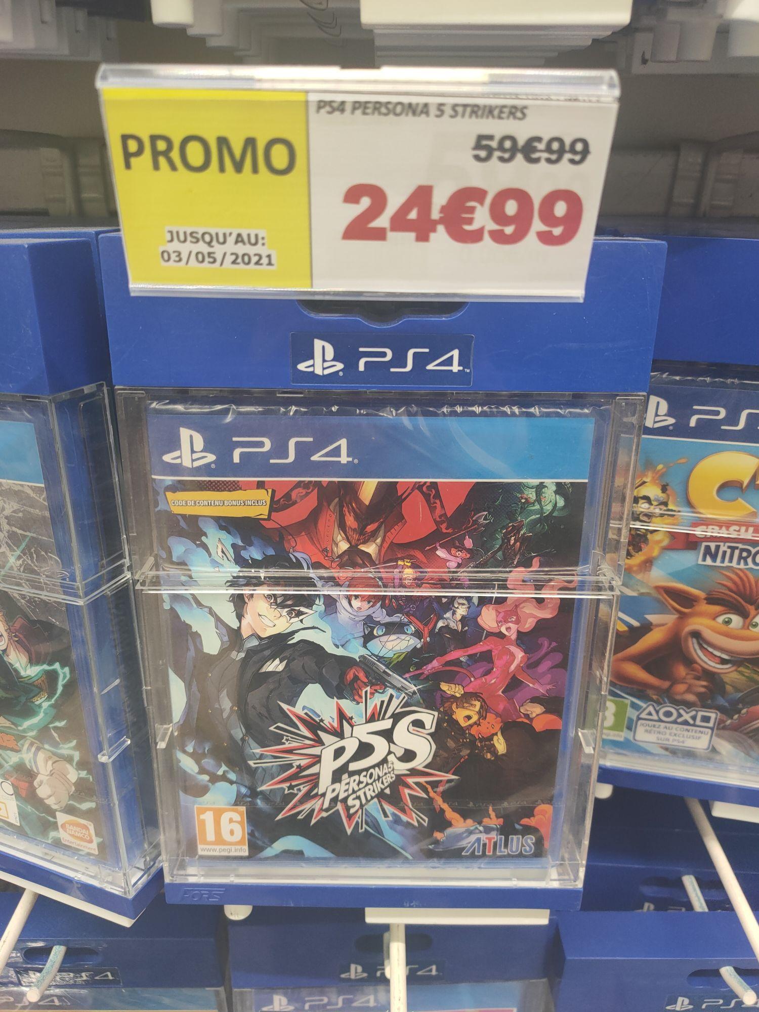 Persona 5 Strikers sur PS4 à Auchan Chasseneuil du Poitou (86)