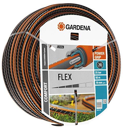 Tuyau Gardena Comfort Flex Power Grip - 50 m, 25 bars, 19 mm (via ODR de 14.4€)