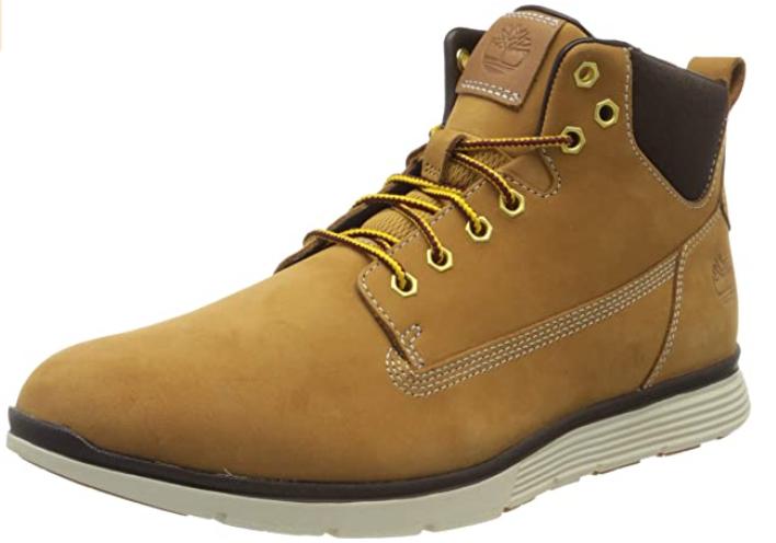 Chaussures montantes Timberland Killington Jaune Wheat Nubuck pour Homme - Diverses tailles (Via coupon)