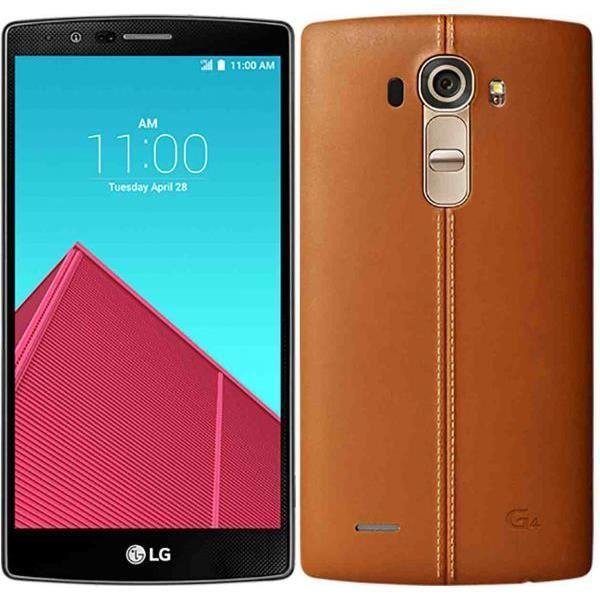 "Smartphone 5,5"" LG G4 cuir marron - 32 Go"