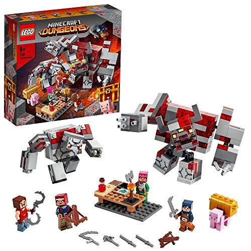 LEGO Minecraft dungeons 21163 La bataille de la Pierre rouge