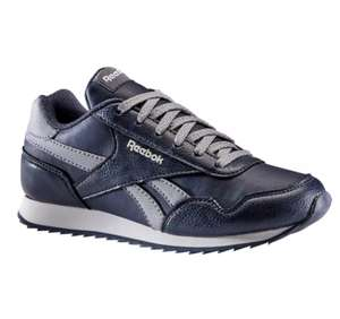 Chaussures de marche Reebok Classic pour Enfant - Bleu marine (Taille 35 au 39)