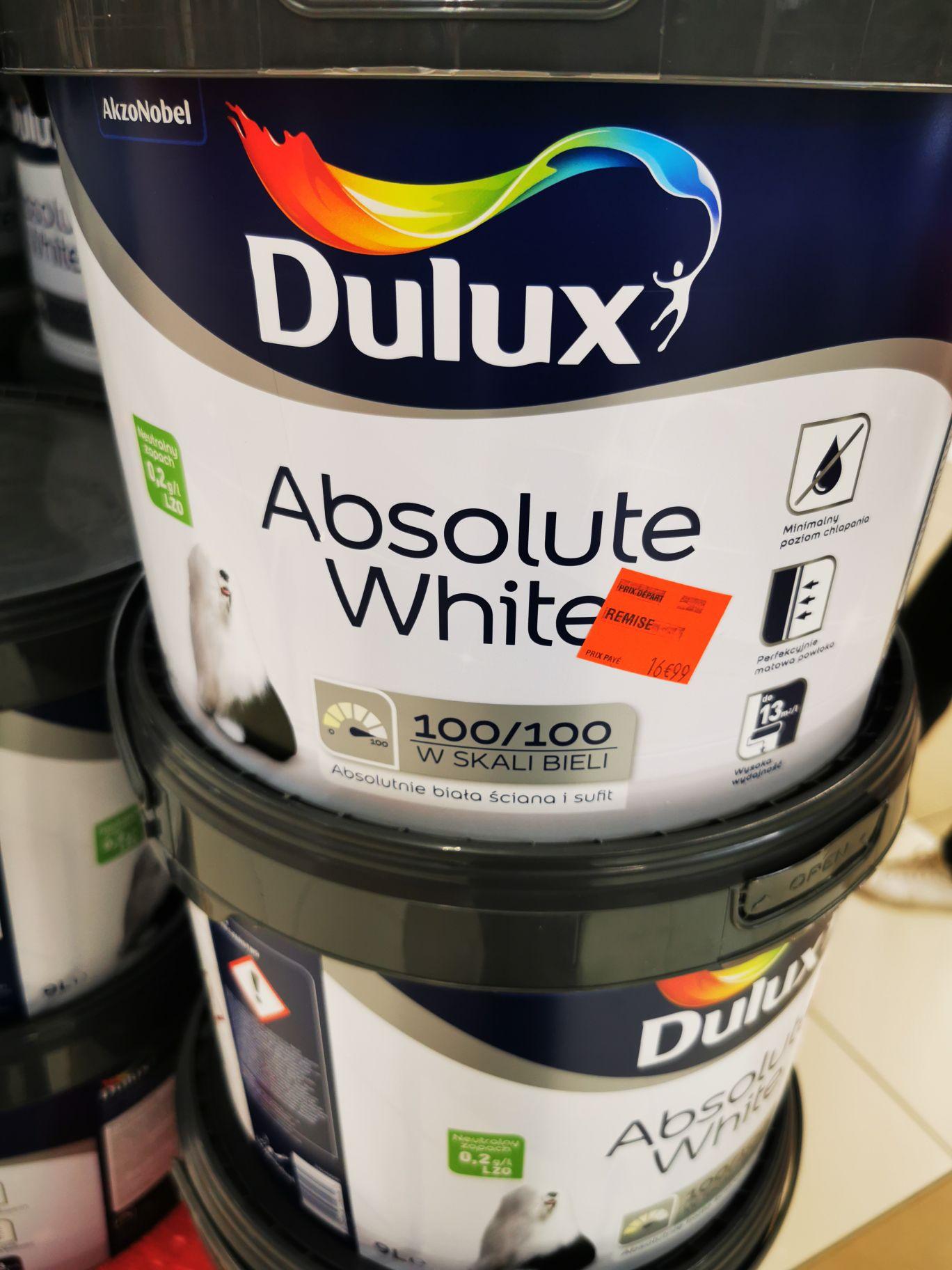 Pot de peinture blanche Dulux Absolute White (9 L) - Portet-sur-Garonne (31)