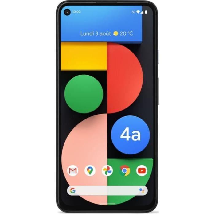 """Smartphone 6.2"""" Google Pixel 4a 5G - 6 Go de RAM, 128 Go (vendeur tiers)"""