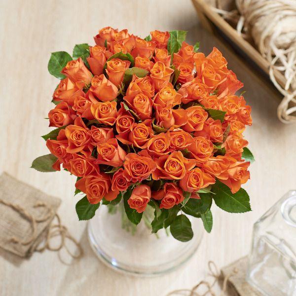 Lot de 2 bouquets de 50 roses - Couleurs au choix (2x50)