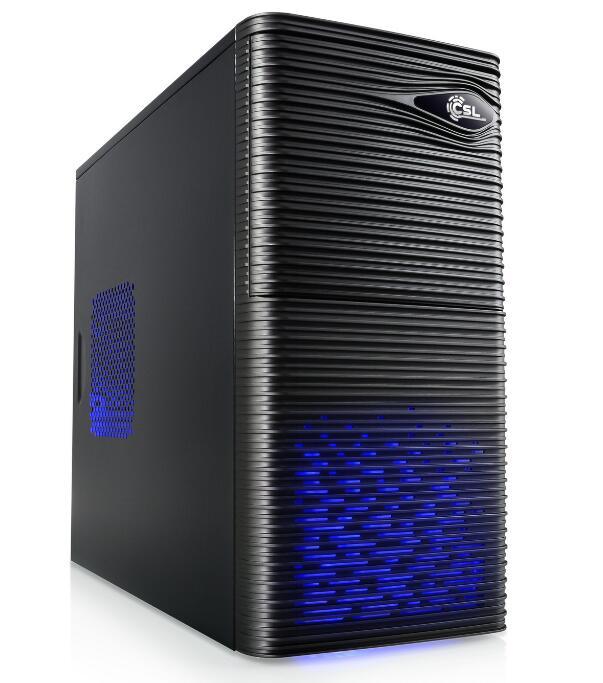 Tour PC Gamer - i3 10100F, GTX 1650, RAM 16Go (2x8) 3200MHz, Asus Prime H410M-E, SSD 480Go, Alim 500W