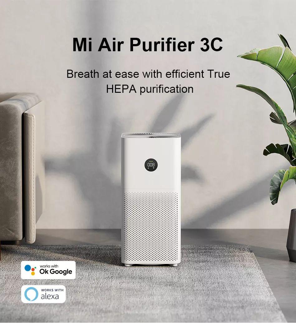 Purificateur d'air Xiaomi Mi Air Purifier 3C - Blanc (entrepôt France)