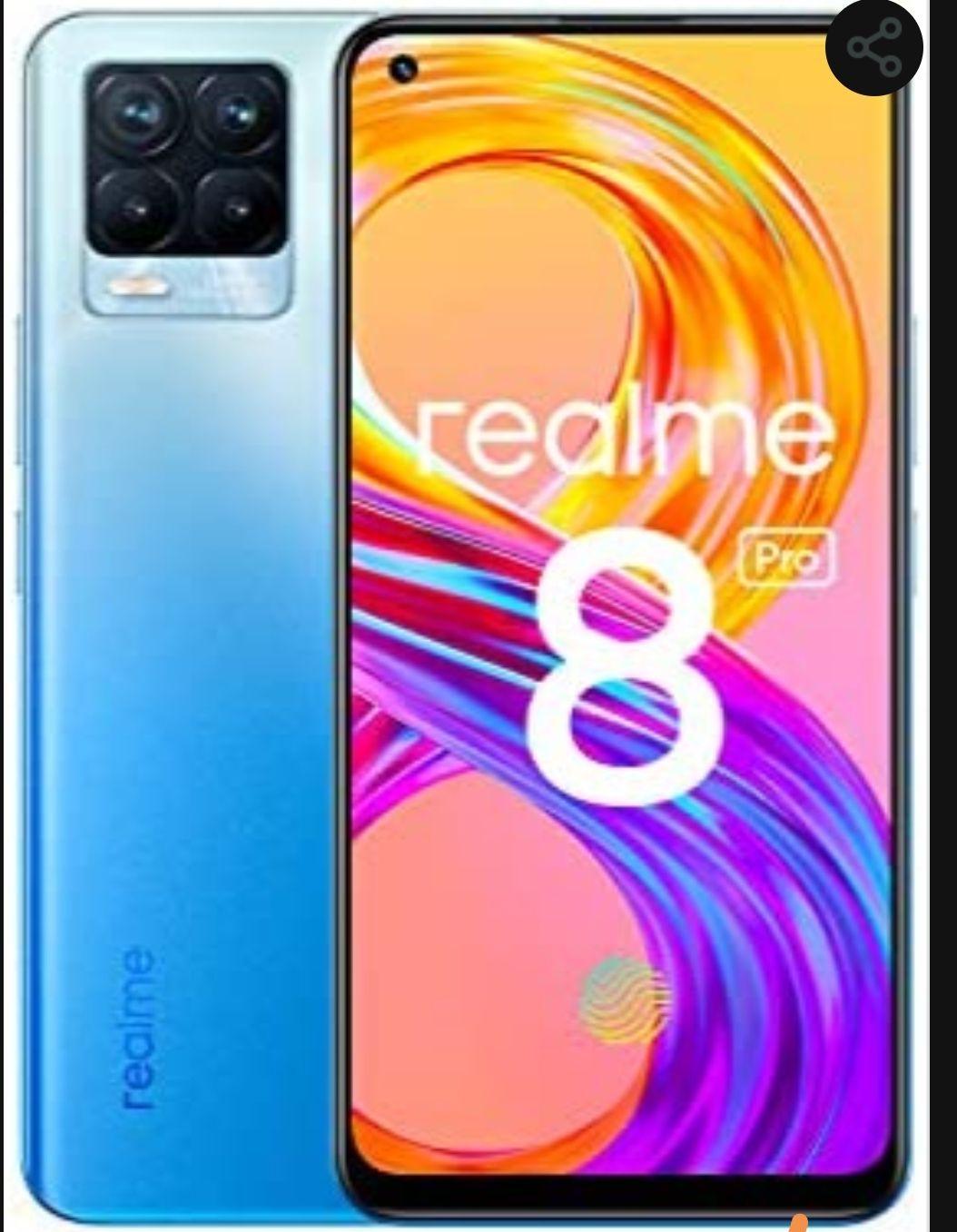 """Smartphone 6.4"""" Realme 8 Pro - 6 Go RAM, 128 Go"""