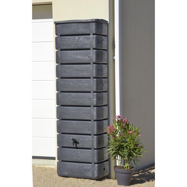 Récupérateur à eau décoratif Woody - 300L