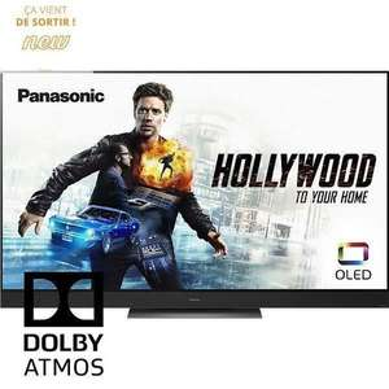 """TV OLED 65"""" Panasonic TX-65HZ2000E - 4K UHD, HDR10+, Dolby Vision iQ & Atmos, Smart TV, Barre de son intégrée (vendeur tiers)"""