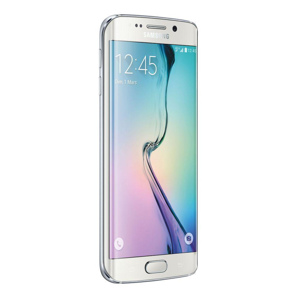 "Smartphone 5.1"" Samsung Galaxy S6 edge - 128 Go, blanc (via 50€ d'ODR)"