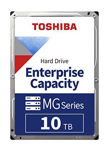 "Disque dur interne 3.5"" Entreprise Toshiba (Meilleur que N300) - 10 To, SATA III, 7200 tr/min"