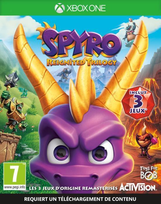 Spyro Reignited Trilogysur Xbox One