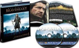 Braveheart Digibook (ou 3,23€ dans l'offre 4 blu-ray = -20€)