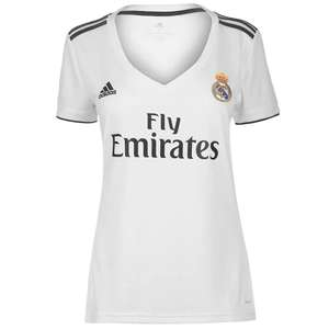 Maillot Fille Real Madrid Domicile 18-19 (Taille XS au L)