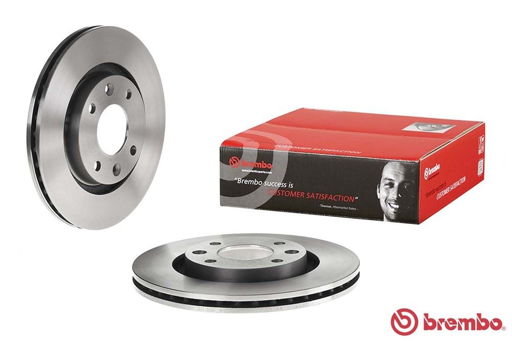Jeu de 2 disques de frein Brembo 09.8695.14