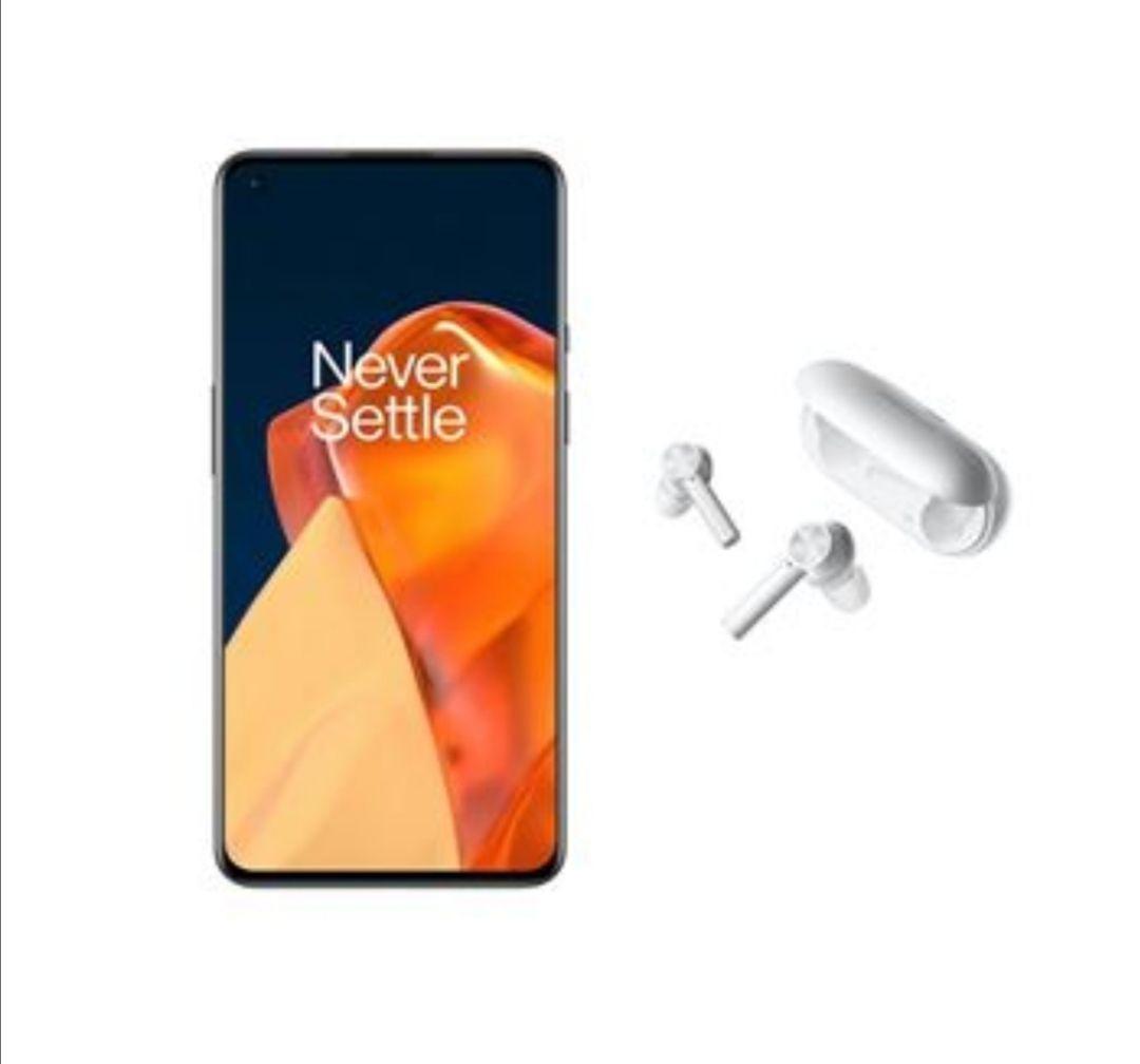 """[Précommande] Smartphone 6.55"""" OnePlus 9 (8 Go RAM, 128 Go, 5G, Noir étoile) + Ecouteurs sans fil OnePlus Buds Z E502A (Blanc)"""