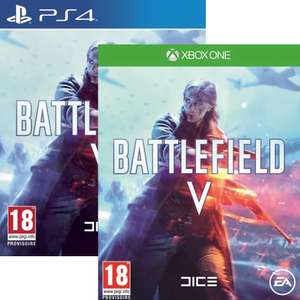 Battlefield V sur PS4 ou ONE (Via Retrait Magasin)