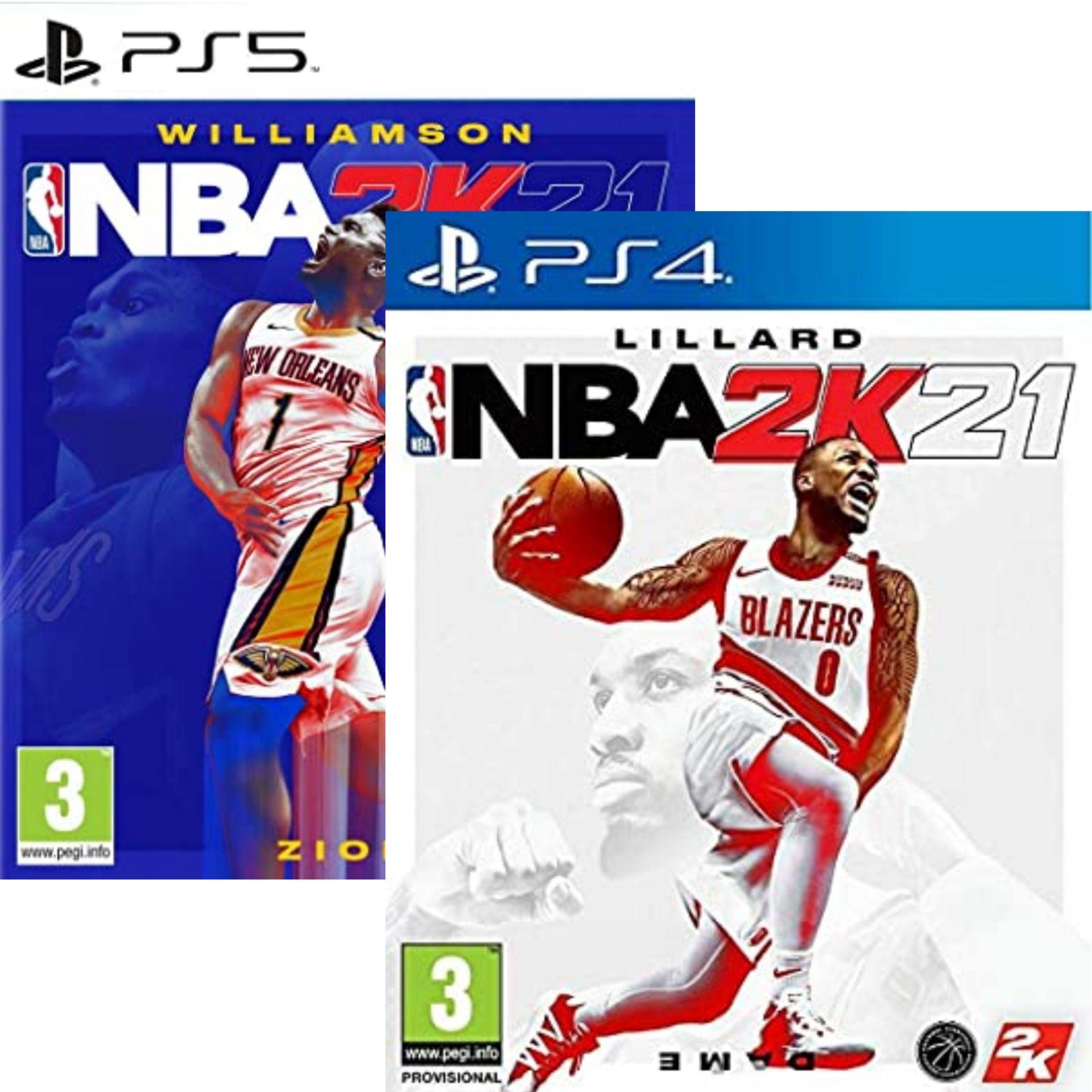 NBA 2K21 sur PS4 (33,90€ sur PS5)