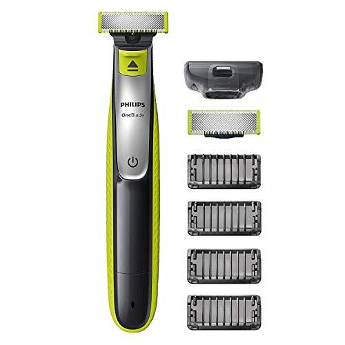 Rasoir électrique Philips OneBlade Face QP2530/30 avec 4 sabots barbe