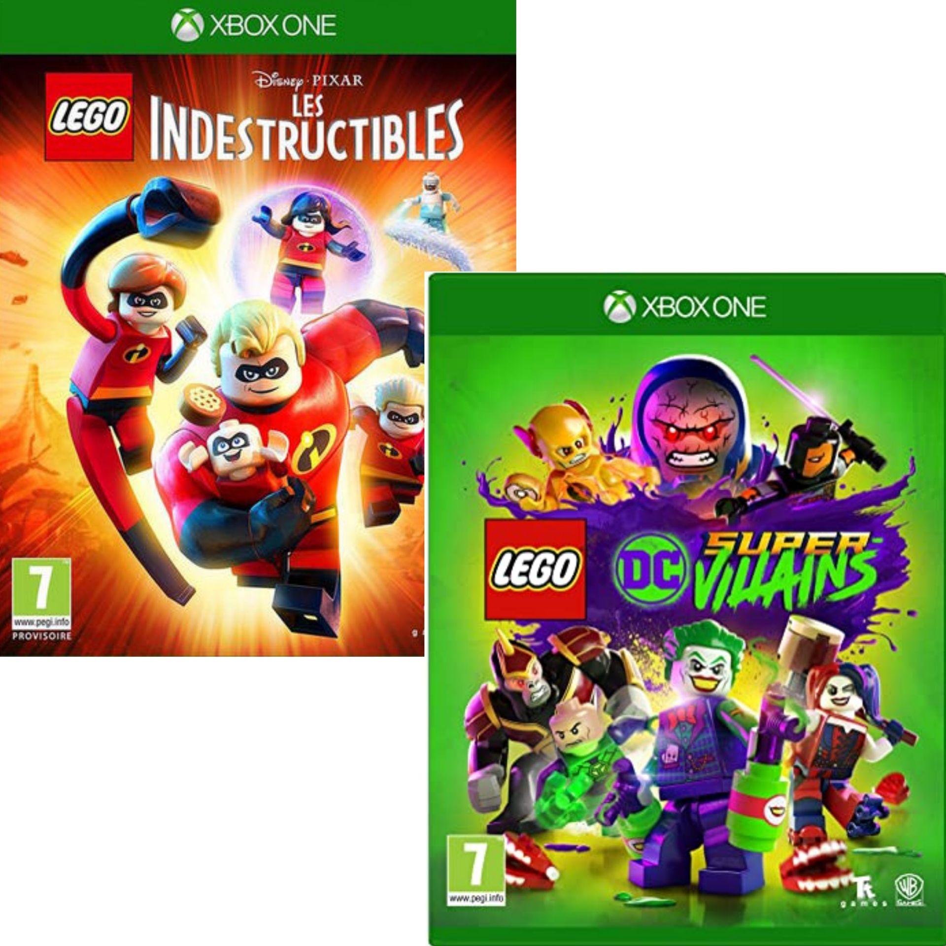 LEGO DC Super Vilains ou LEGO Les Indestructibles sur Xbox One
