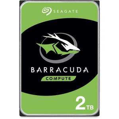 "Disque dur Interne 3.5"" Seagate BarraCuda - 2To, 7 200 tr/min"
