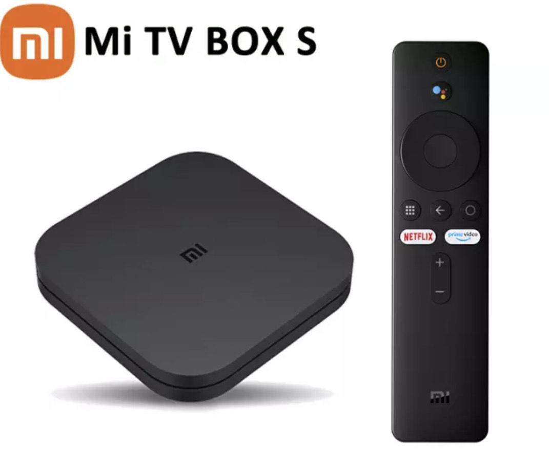 Box TV Android Xiaomi Mi Box S - 4K UHD, 2 Go de RAM, 8 Go
