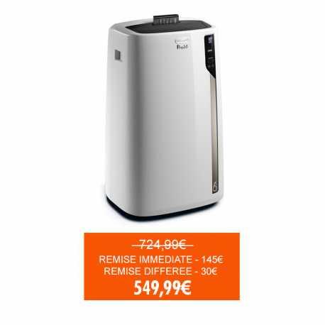 Climatiseur monobloc DeLonghi - 40 m², 10700 BTU (via ODR 30€)