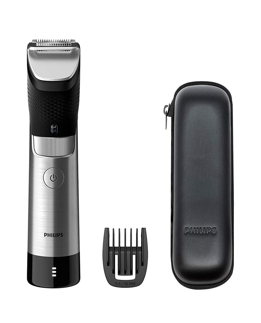 Tondeuse à barbe Philips Beard Trimmer 9000 Prestige SteelPrecision BT9810/15