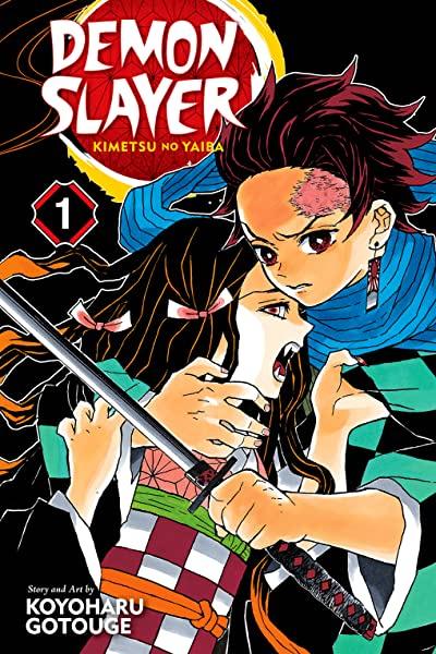 Tome 1 Manga Demon Slayer: Kimetsu no Yaiba - 192 pages Gratuit (numérique - en Anglais)