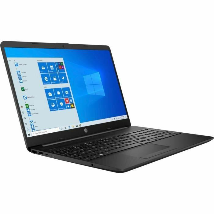 "PC Portable 15.6"" HP 15-dw1050nf - HD, Core i3-10110U, 4 Go RAM, 128 Go SSD, Windows 10"