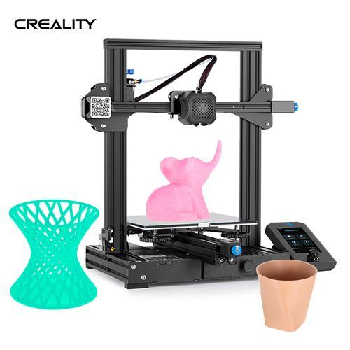 Sélection d'imprimantes 3D en promotion - Ex: Imprimante 3D Creality Ender-3 V2 (vendeur tiers)